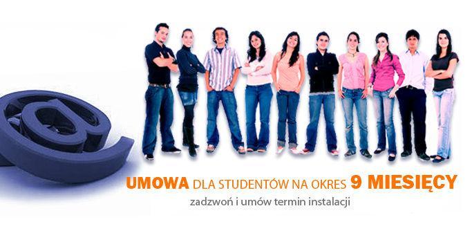 Internet dla studentów tylko na 9 miesięcy